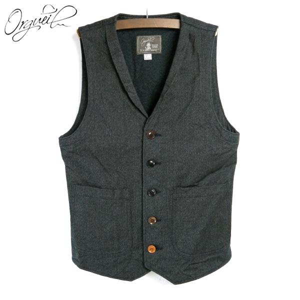 Cotton Gilet Not Best Syncback Botin Vest Men's 025 Orgueilor ヴィンテージワーク Japan TwistingHeather rhdCxQts