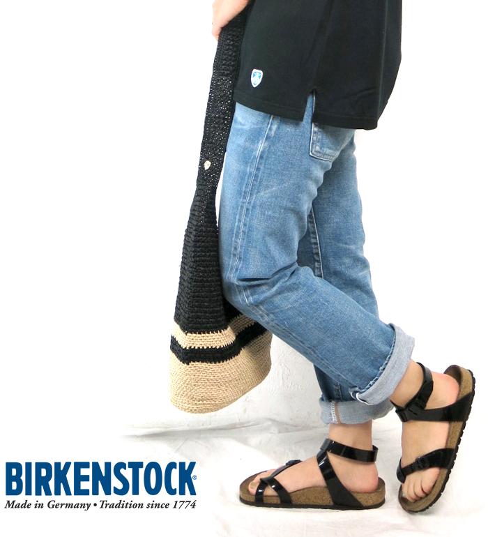 0b6038a3615 C.POINT  (Birkenstock) BIRKENSTOCK  YARA Yarra BF patent ankle strap ...