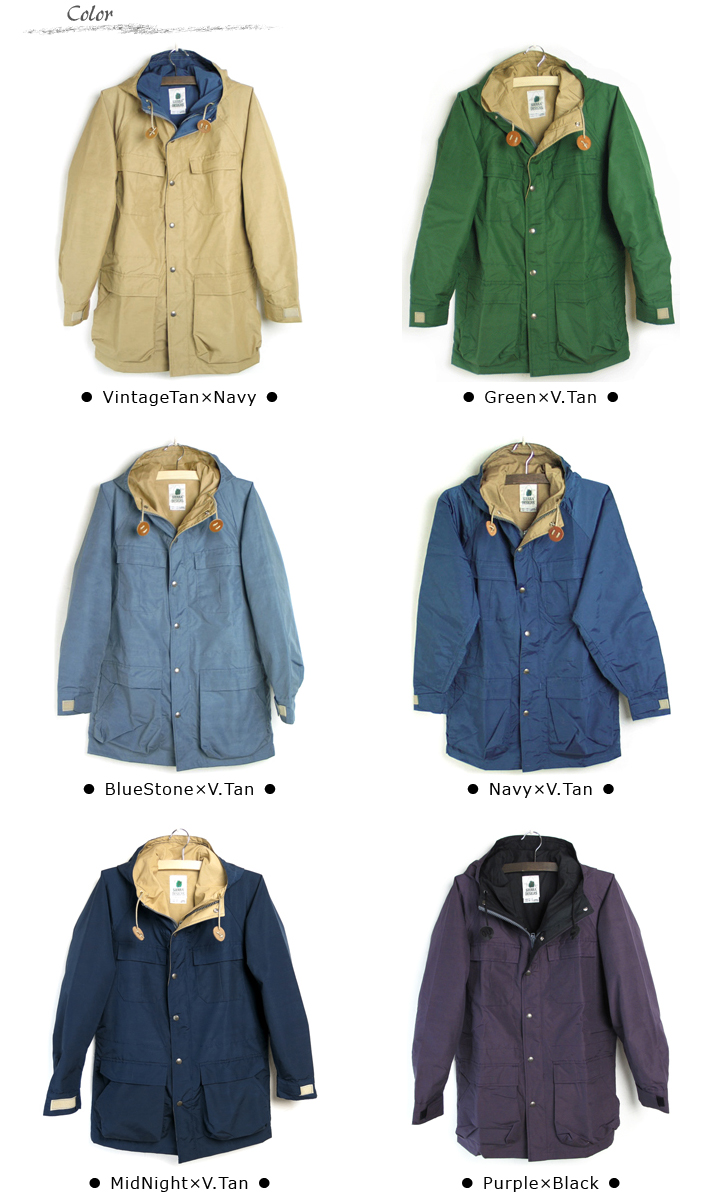 Classic manpa of Sierra SIERRA DESIGNS [designs] 60 / mountain 40 MountainParka Park of the original 60 / 40 cloth forever! Made in the USA