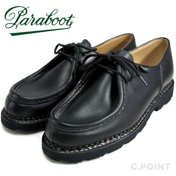 new style c2c17 9d576 (para-boots) a product made in Paraboot  MICHAEL -Noir - ミカエル ...