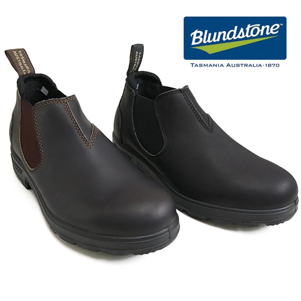 (ブランドストーン) Blundstone #1611 #1610 Low-Cut slip on shoes(メンズ/レディース/スリップオンシューズ/サイズゴア/ローカット/ブラック/ブラウン/スムースレザー/防水/軽量/雨天兼用/革靴/梅雨/オーストラリア/タスマニア/レインブーツ/ラバーソール/送料無料)