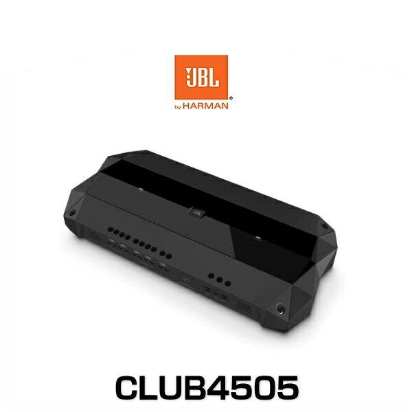 JBL CLUB4505 新作 5チャンネル パワーアンプ 最大出力1800W 結婚祝い