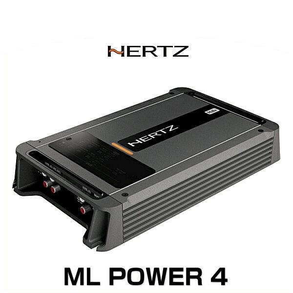 HERTZ ハーツ ML POWER 4 パワーアンプ D-CLASS 4チャンネル