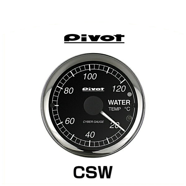 PIVOT ピボット CSW サイバーゲージ 水温計 センサータイプ CYBER GAUGE