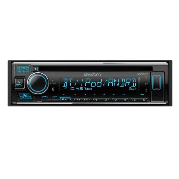 KENWOOD ケンウッド U380BT CD/USB/iPod/Bluetoothレシーバー MP3/WMA/AAC/WAV※/FLAC※対応