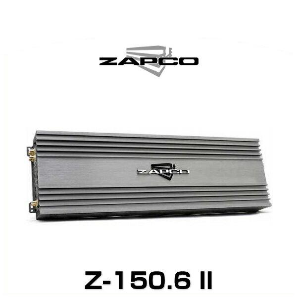 ZAPCO ザプコ Z-150.6 II 165W×6ch アンプ