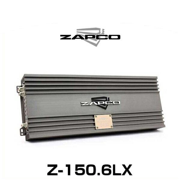 ZAPCO ザプコ Z-150.6LX 150W×6ch アンプ