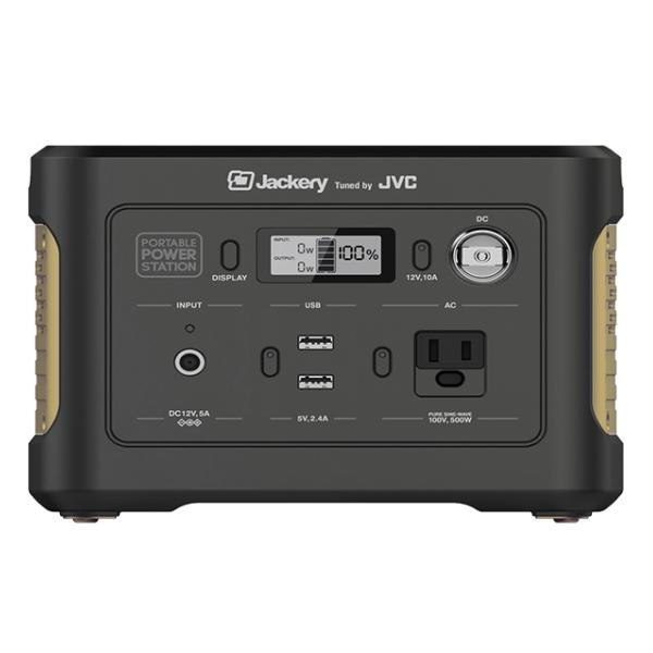 JVCケンウッド BN-RB3-C Jackery ポータブル電源 86,400Ah/311Wh