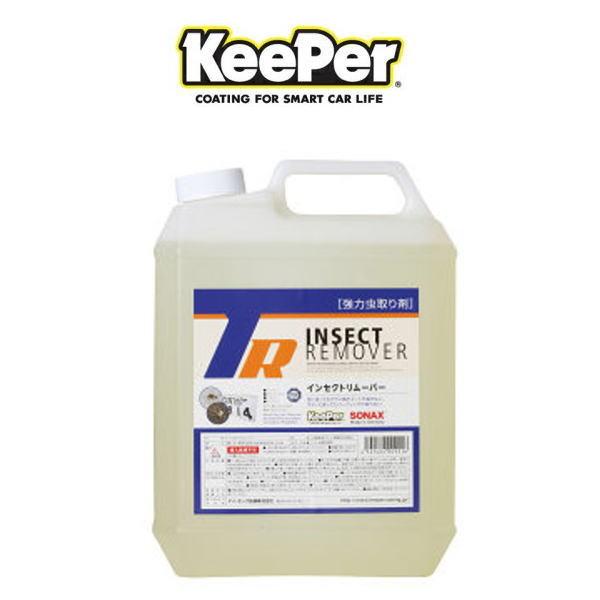 新商品!新型 KeePer技研 キーパー技研 インセクトリムーバー 4L ボディ ガラス面の強力虫取り剤 期間限定の激安セール 洗車用