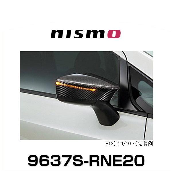 NISMO ニスモ 9637S-RNE20 ノート E12('14/10~)用 カーボンドアミラーカバー
