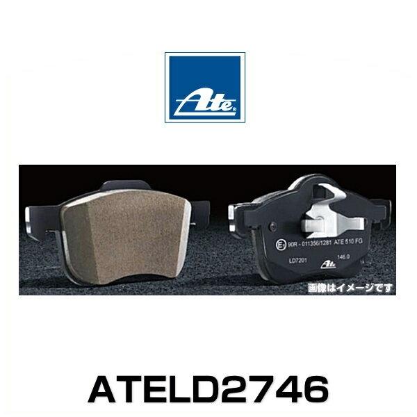 ATE アーテ ATELD2746 欧州車用ダストレス・パッド セラミックパッド AUDI フロントパッド