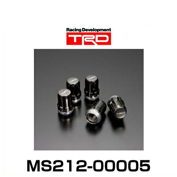 TRD MS212-00005 ラグナットセット ブラッククローム