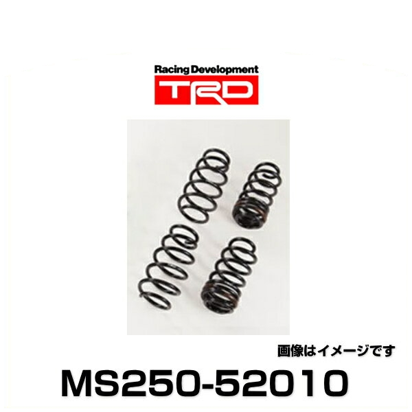 TRD MS250-52010 コイルスプリングセット サスペンション(車高固定式) アクア用(~2014.12)