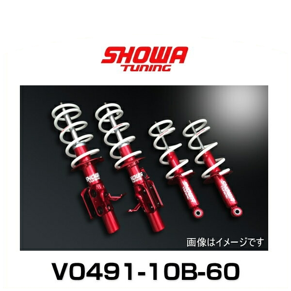 SHOWA TUNING ショーワチューニング V0491-10B-60 86(ZN6)/BRZ(ZC6)MT車(後期)用 Evolution 極 サスペンションキット