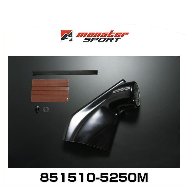 Monster SPORT モンスタースポーツ 851510-5250M ピラーメーターフード シングル φ60 FRP (黒ゲルコート仕上げ) カーボン ジムニー用