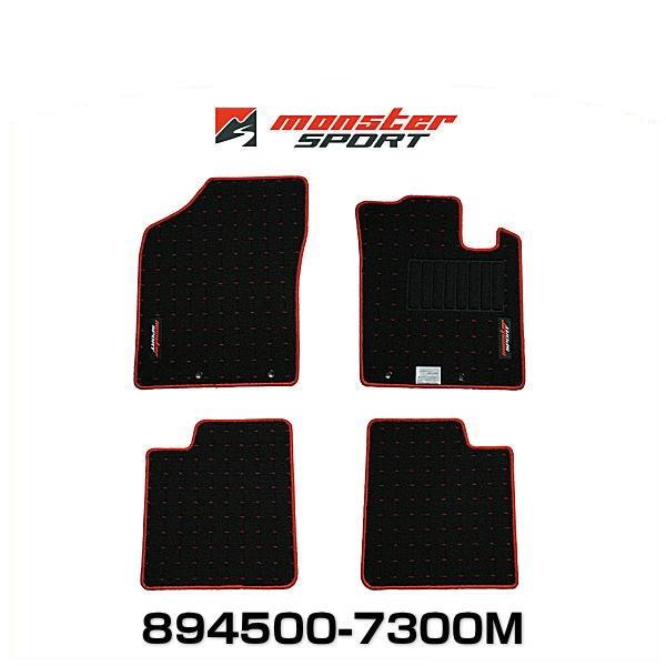 Monster SPORT モンスタースポーツ 894500-7300M フロアマット 5MT アルトワークス/アルトターボRS/アルト[HA36S] / キャロル[HB36S]用
