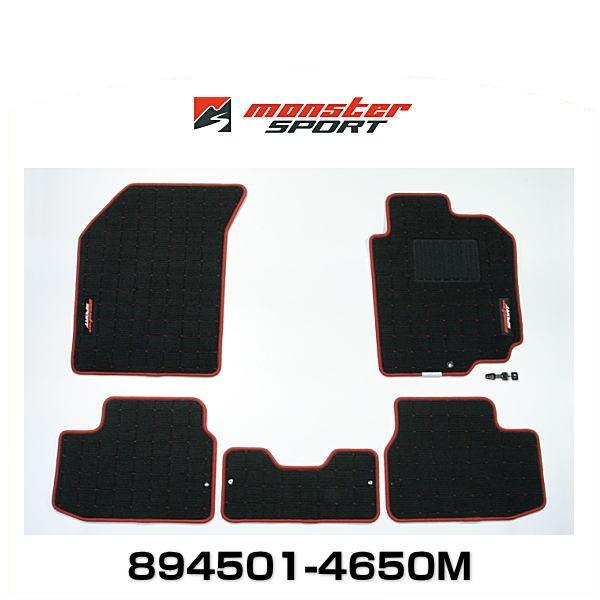 Monster SPORT モンスタースポーツ 894501-4650M フロアマット Type-2 MT スイフトスポーツ、スイフト用