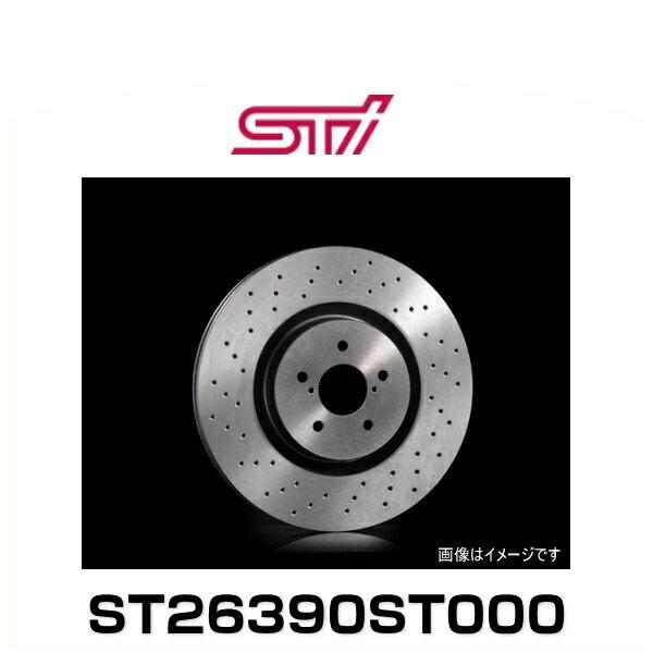 STI ST26390ST000 ドリルドディスク F GTブレンボ用(ブレーキディスクローター)