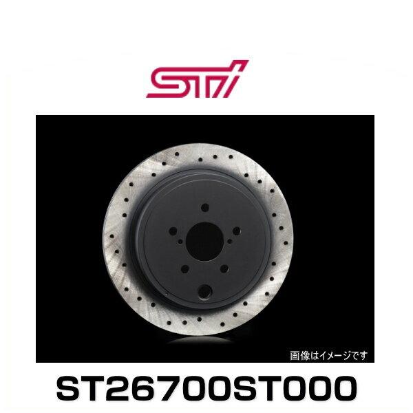STI ST26700ST000 ドリルドディスク R (ブレーキディスクローター)