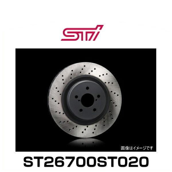 STI ST26700ST020 ドリルドディスク R (ブレーキディスクローター)