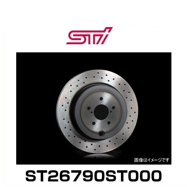 STI ST26790ST000 ドリルドディスク R GTブレンボ用 (ブレーキディスクローター)