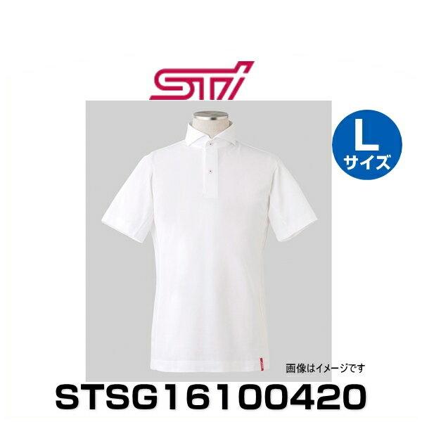 STI STSG16100420 ドライビングシャツ(半袖)ホワイト Lサイズ