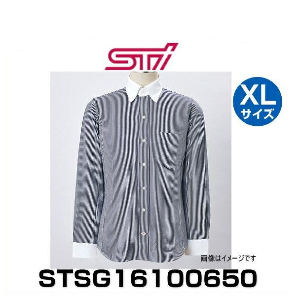 STI STSG16100650 ドライビングシャツ(長袖)ストライプ XLサイズ