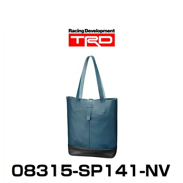 TRD 08315-SP141-NV 縦型本革トートバッグ ネイビー LEATHER TOTE BAG グッズ