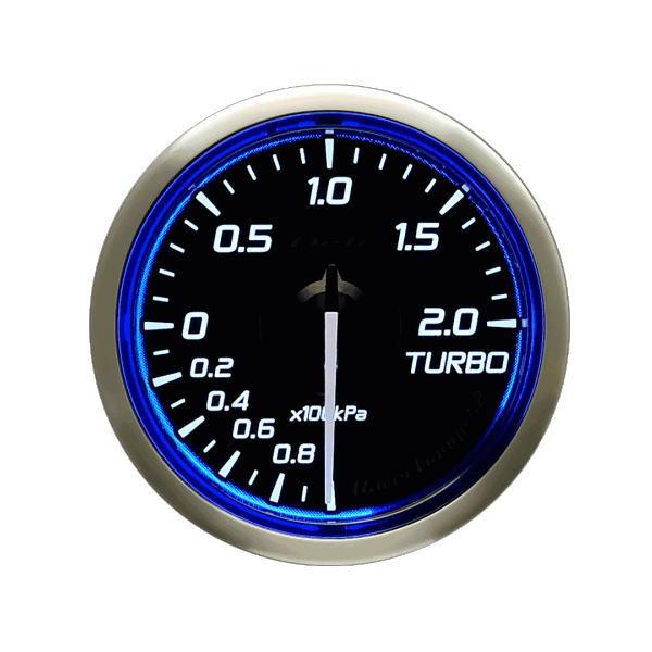 日本精機 Defi デフィ DF16001 Racer Gauge N2 φ52 ターボ計/Max200kPa -100kPa~+200kPa レーサーゲージN2