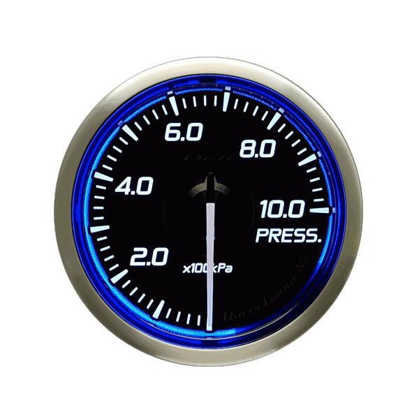 日本精機 Defi デフィ DF16201 Racer Gauge N2 φ52 圧力計0~1000kPa レーサーゲージN2