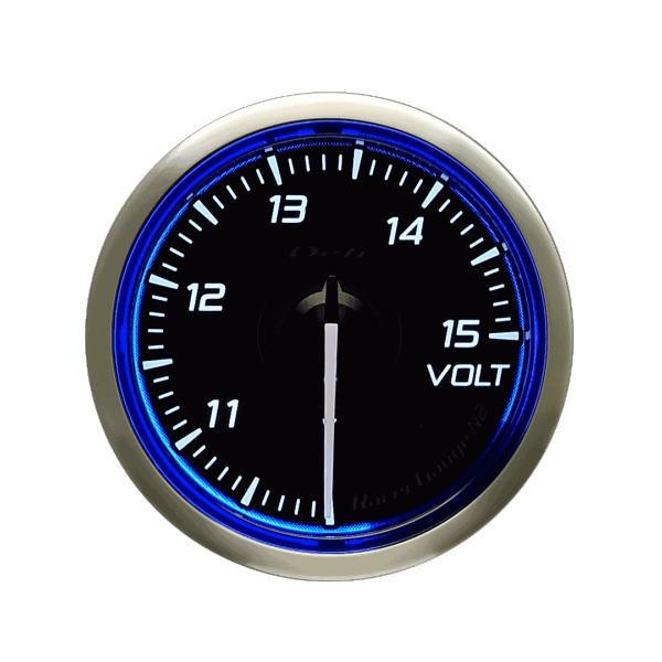 日本精機 Defi デフィ DF16501 Racer Gauge N2 φ52 電圧計10~15V レーサーゲージN2
