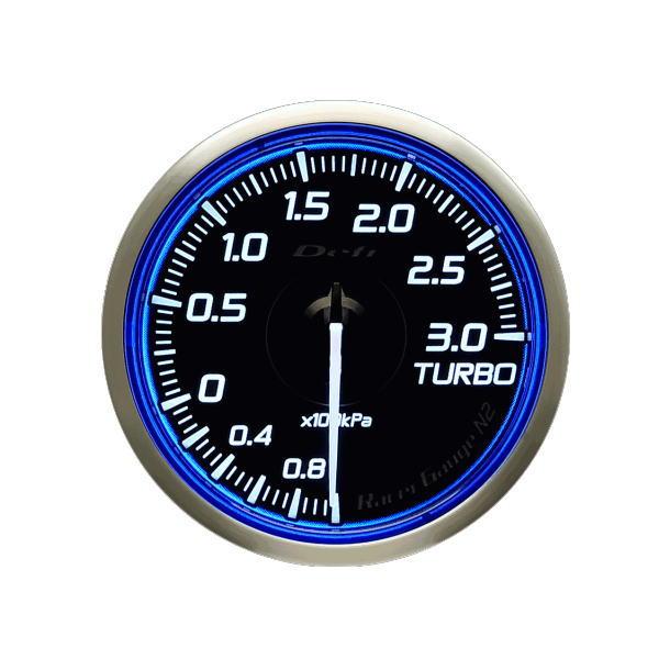 日本精機 Defi デフィ DF16701 Racer Gauge N2 φ60 ターボ計/Max300kPa-100kPa~+300kPa レーサーゲージN2