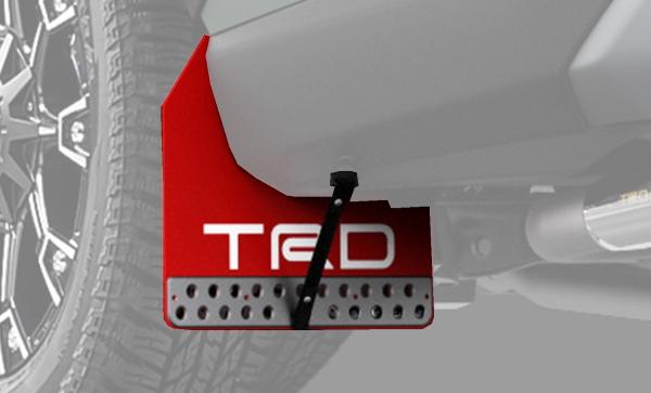 TRD MS328-42001 マッドフラップ レッド RAV4(5#系)