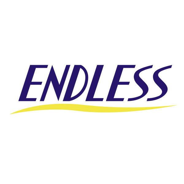 大注目 ネコポス可能 お金を節約 ENDLESS エンドレス GSTEDLNS サイズ:H2.8cm×W10cm ネイビー Sサイズ ENDLESS抜き文字ステッカー