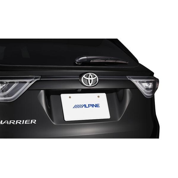 ALPINE アルパイン HCE-C1000D-HA ハリアー専用 HDRバックビューカメラパッケージ(カメラ色:ブラック)
