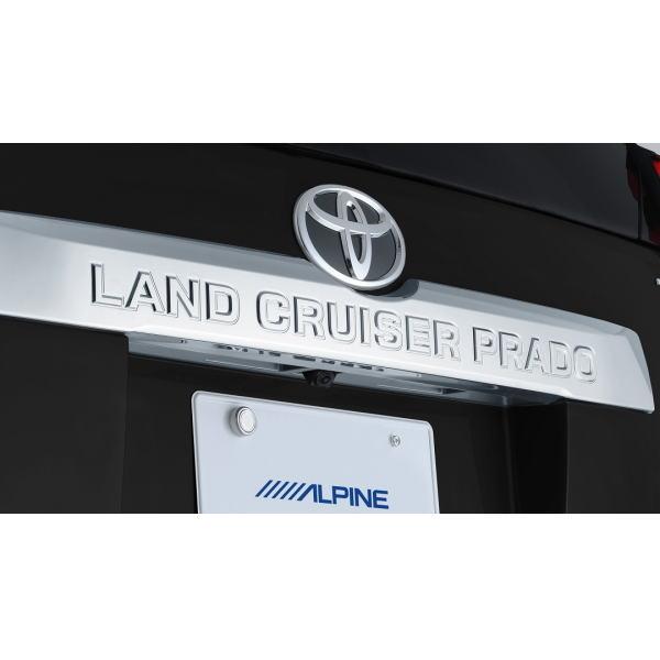 ALPINE アルパイン HCE-C2000RD-LP ランドクルーザー・プラド専用 HDRマルチビュー・バックカメラパッケージ(カメラ色:ブラック)