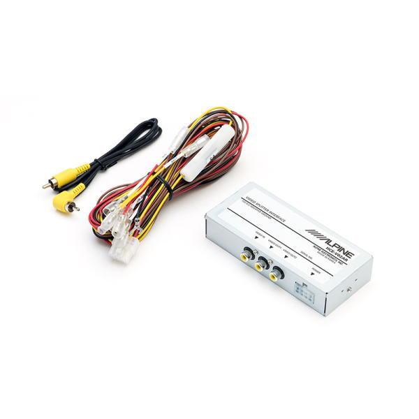 ALPINE アルパイン HCE-V02AR リアビジョンリンク対応 映像分配ユニット(RCA接続タイプ)