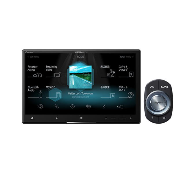 carrozzeria カロッツェリア AVIC-CL910 8V型HD/TV/DVD/CD/Bluetooth/USB/SD/チューナー・AV一体型メモリーナビゲーション