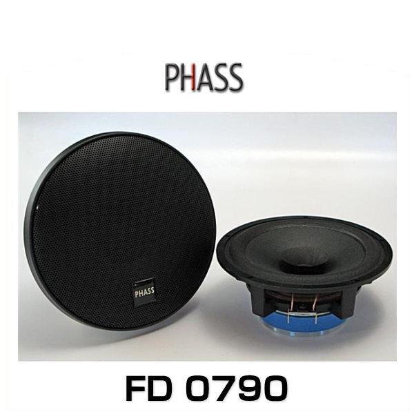 PHASS ファス FD 0790 6.5インチ(16.5cm)フルレンジスピーカー FD0790