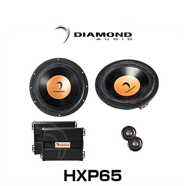 DIAMOND AUDIO ダイヤモンドオーディオ HXP65 6.5インチ 2ウェイ セパレートスピーカー
