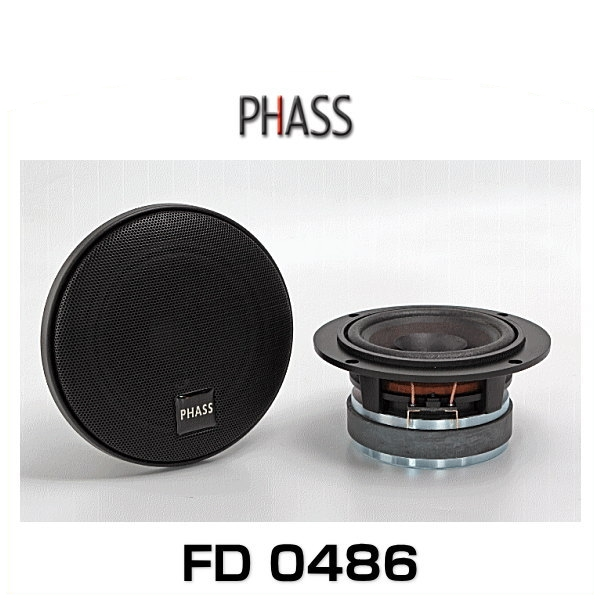 PHASS ファス FD 0486 4インチ(10cm)フルレンジスピーカー FD0486