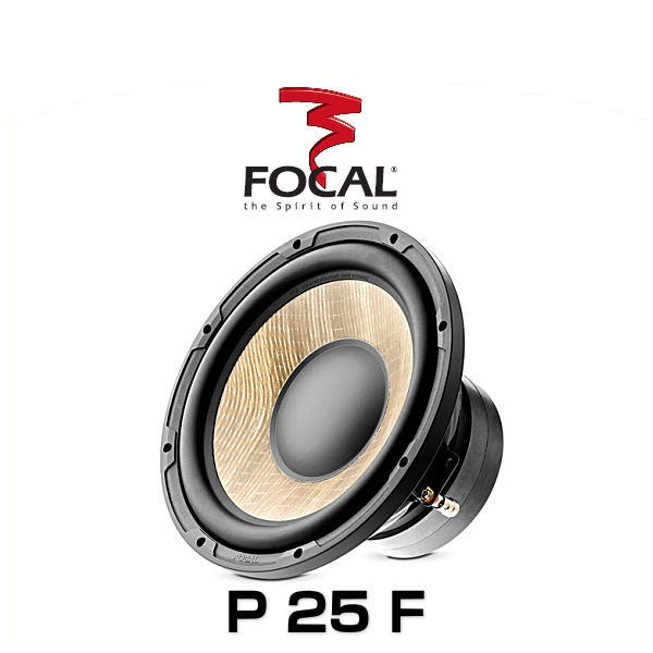 lt;【日本正規品】gt; FOCAL フォーカル P 25 F 25cmサブウーファー FLAX