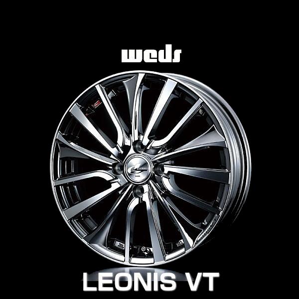 weds ウェッズ レオニス VT 36345 17インチ 17×6.5J インセット:50 穴数:4 PCD:100 ハブ径:73 カラー:BMCMC【ホイール4本価格】