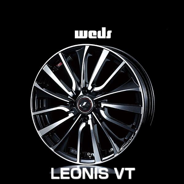weds ウェッズ レオニス VT 36344 17インチ 17×6.5J インセット:50 穴数:4 PCD:100 ハブ径:73 カラー:PBMC【ホイール4本価格】