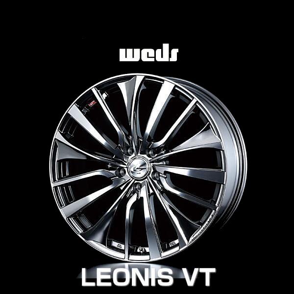 weds ウェッズ レオニス VT 36384 20インチ 20×8.5J インセット:35 穴数:5 PCD:114.3 ハブ径:73 カラー:BMCMC【ホイール4本価格】