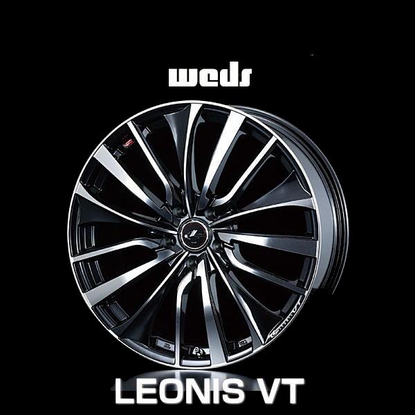 weds ウェッズ レオニス VT 36386 20インチ 20×8.5J インセット:45 穴数:5 PCD:114.3 ハブ径:73 カラー:PBMC【ホイール4本価格】