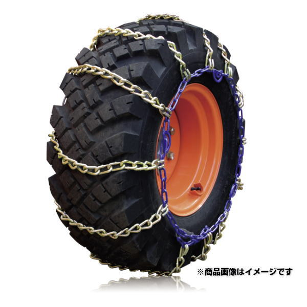 SCC Japan KA68143 KAミニホイールローダー用タイヤチェーン 合金鋼チェーン (タイヤチェーン)