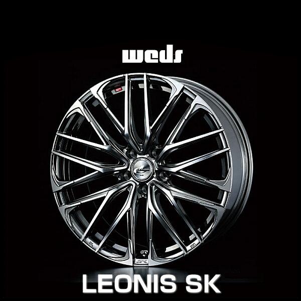weds ウェッズ レオニス SK 38339 19インチ 19×8.0J インセット:35 穴数:5 PCD:114.3 ハブ径:73 カラー:BMCMC【ホイール4本価格】