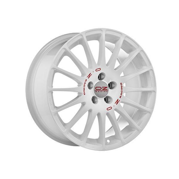 OZ Superturismo WRC スーパーツーリズモWRC 17インチ 17×8 インセット:35 穴数:5 PCD:100 ハブ径:68 ホワイト【ホイール4本価格】