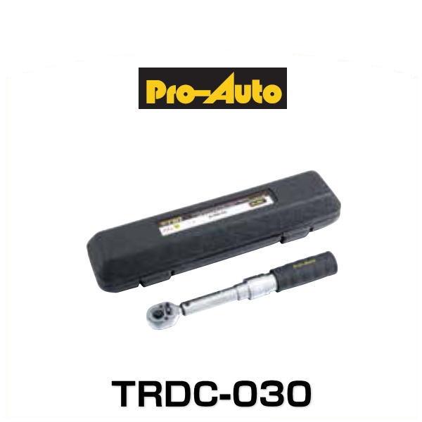 プロオート スエカゲツール TRDC-030 トルクレンチ 3/8 9.5sq. (6~30N・m)